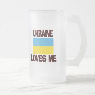 Ucrania me ama taza de café