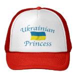 Ucrania Prncess Gorros Bordados