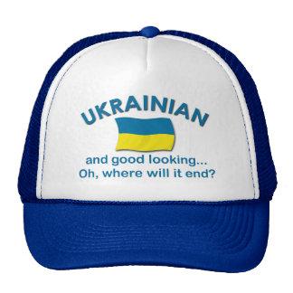 Ucraniano apuesto gorros bordados