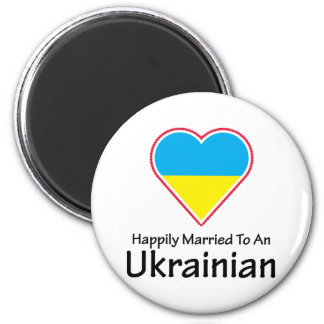 Ucraniano feliz casado imanes
