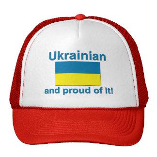 Ucraniano orgulloso gorras