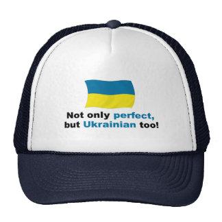Ucraniano perfecto gorro