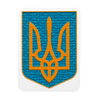 Ucraniano Tryzub Iman De Vinilo