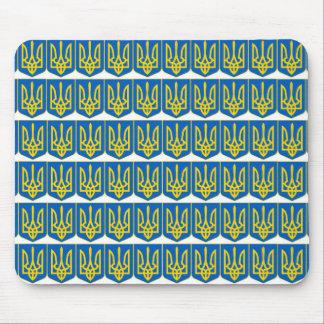 Ucraniano Tryzub Mousepads