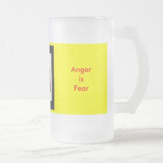 UCreate Anger is Fear Coffee Mugs