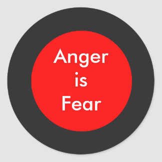 !   UCreate Anger is Fear Sticker