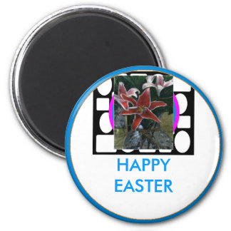 !UCreate Happy Easter 2 Inch Round Magnet