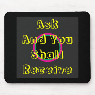 ! UCreate Zazzle - Ask You Receive The MUSEUM Mouse Pad
