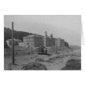 UCSF enseña 1900 - notecard Felicitación