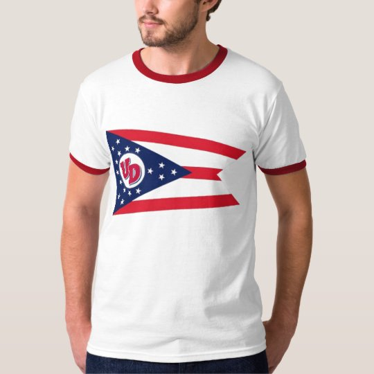 UD Flag Ringer T-Shirt