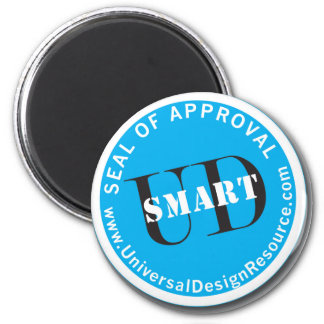 UD-Smart Seal of Approval Refrigerator Magnet