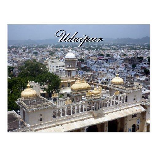 udaipur city postcard