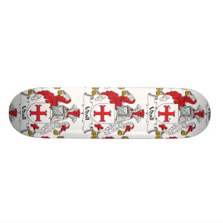 Udall Family Crest Skate Board