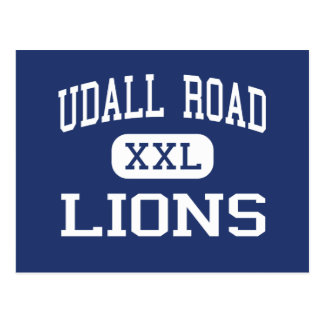 Udall Road Lions Middle West Islip New York Postcard