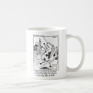 """Udder Fodder"" by Jim Kraft Coffee Mug"