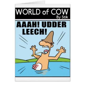 UDDER LEECH! CARD