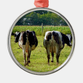 Udder Viewpoints Metal Ornament