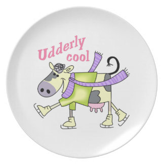 UDDERLY COOL PARTY PLATES