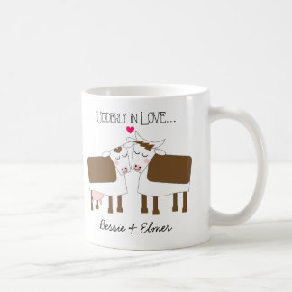 Udderly in Love Personalized Mug