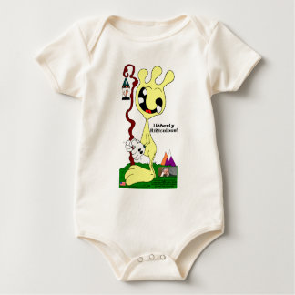 Udderly Ridiculous! Baby Bodysuit