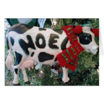 UDDERLY WONDERFUL CHRISTMAS CARD