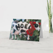 UDDERLY WONDERFUL CHRISTMAS HOLIDAY CARD