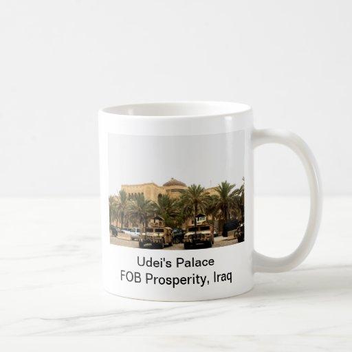 Udei; palacio de s, prosperidad del MANDO, Iraq Taza De Café