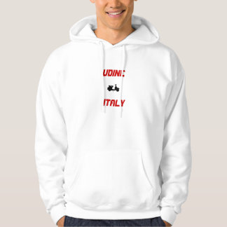 Udine, Italy Scooter Hoodie