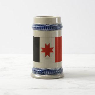 Udmurt Republic Flag Beer Stein