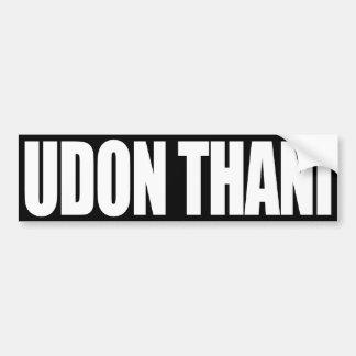 Udon Thani Car Bumper Sticker