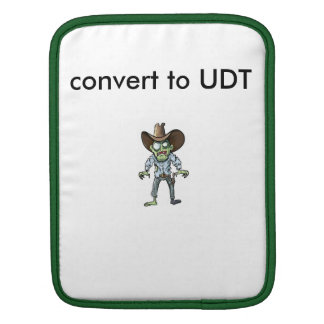 udt sleeve sleeves for iPads