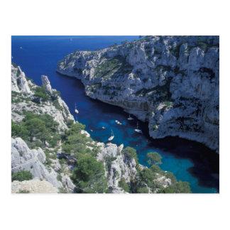 UE, costa de Francia, Provence, riviera francesa, Tarjeta Postal