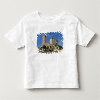 UE, Francia, Foix, Ariege, los Pirineos. Castillo Playera De Bebé