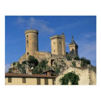 UE, Francia, Foix, Ariege, los Pirineos. Castillo Postales