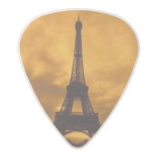UE, Francia, París.  Torre de Eiffel Plectro De Acetal
