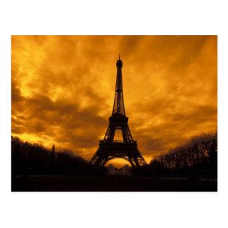 UE, Francia, París.  Torre de Eiffel Postales