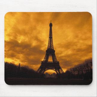 UE, Francia, París.  Torre de Eiffel Tapete De Ratones