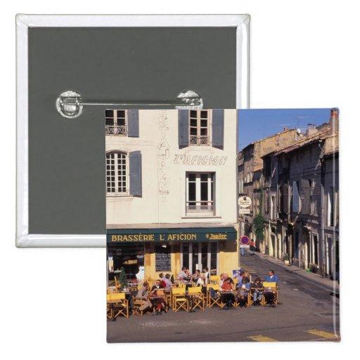 UE, Francia, Provence, Bouches-du-Rhone, Arles. Pins