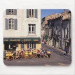 UE, Francia, Provence, Bouches-du-Rhone, Arles. Alfombrillas De Ratones