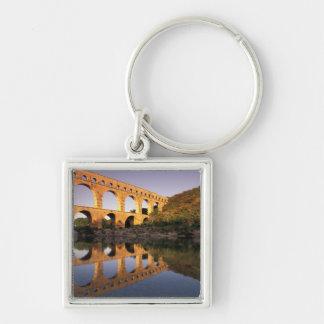 UE, Francia, Provence, Gard, Pont du Gard. 2 Llaveros Personalizados