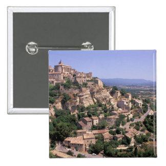 UE, Francia, Provence, Luberon, Gordes Pin Cuadrada 5 Cm