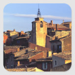 UE, Francia, Provence, Vaucluse, el Rosellón. 3 Pegatina Cuadrada