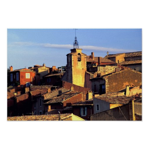 UE, Francia, Provence, Vaucluse, el Rosellón Póster