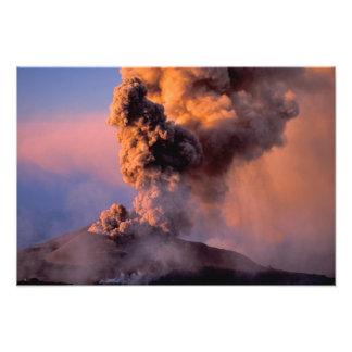 UE, Italia, Sicilia, respiradero de la cumbre del  Fotografías