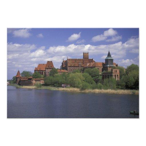 UE, Polonia, Pomerania, Malbork. Europa Fotografía