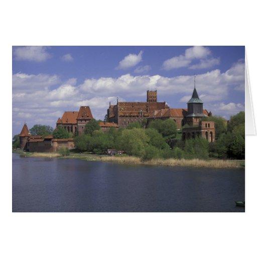 UE, Polonia, Pomerania, Malbork. Europa Tarjetas