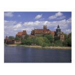 UE, Polonia, Pomerania, Malbork. Europa Tarjetas Postales
