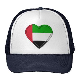 UEA United Arab Emirates flag Mesh Hat