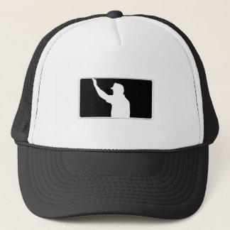 UEFL Black & White Logo Trucker Hat