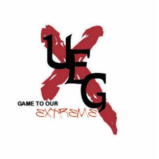 UEG cut-out style keychain